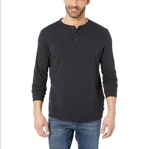 New Tags VINEYARD VINES Henley Shirt Black Mens XS